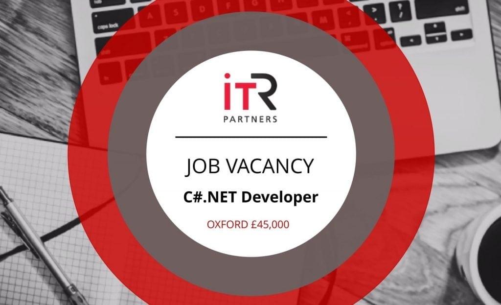 ITR Partners job vacancy