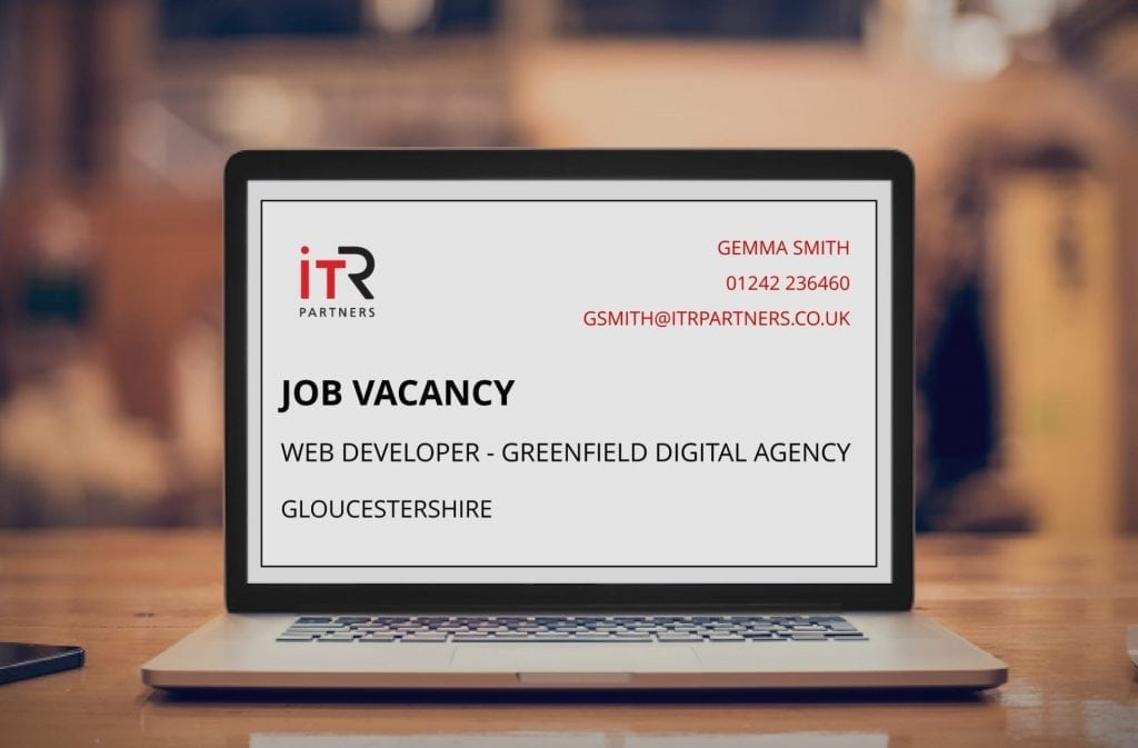 ITR Partners Job Vacancy