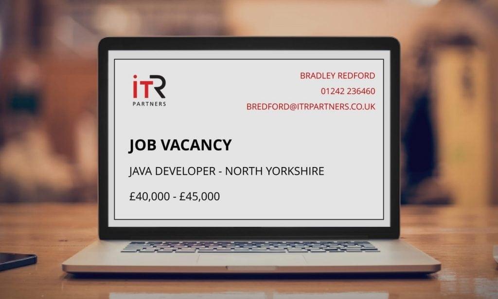 ITR Job Vacancy