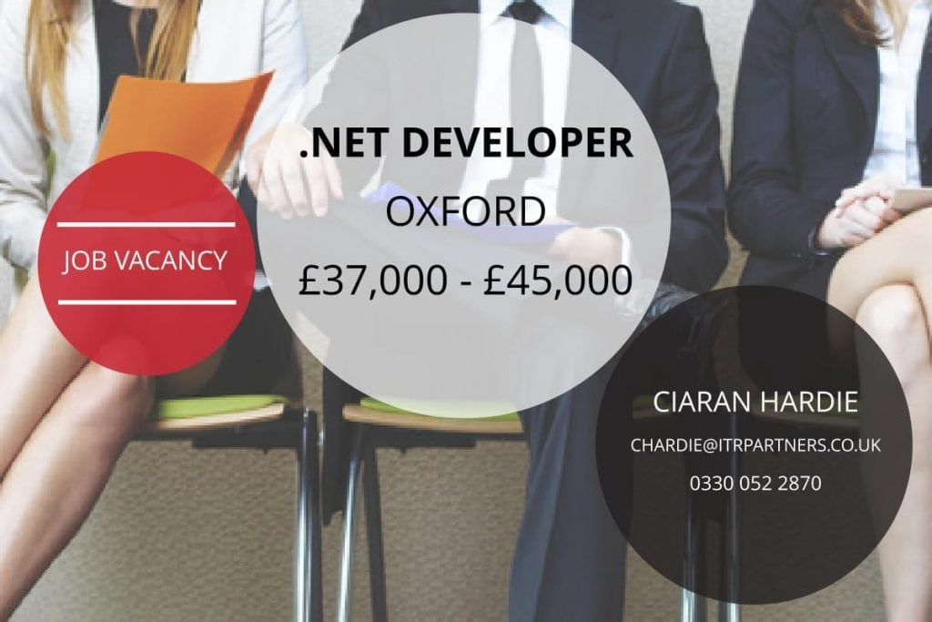 .NET Developer Oxford
