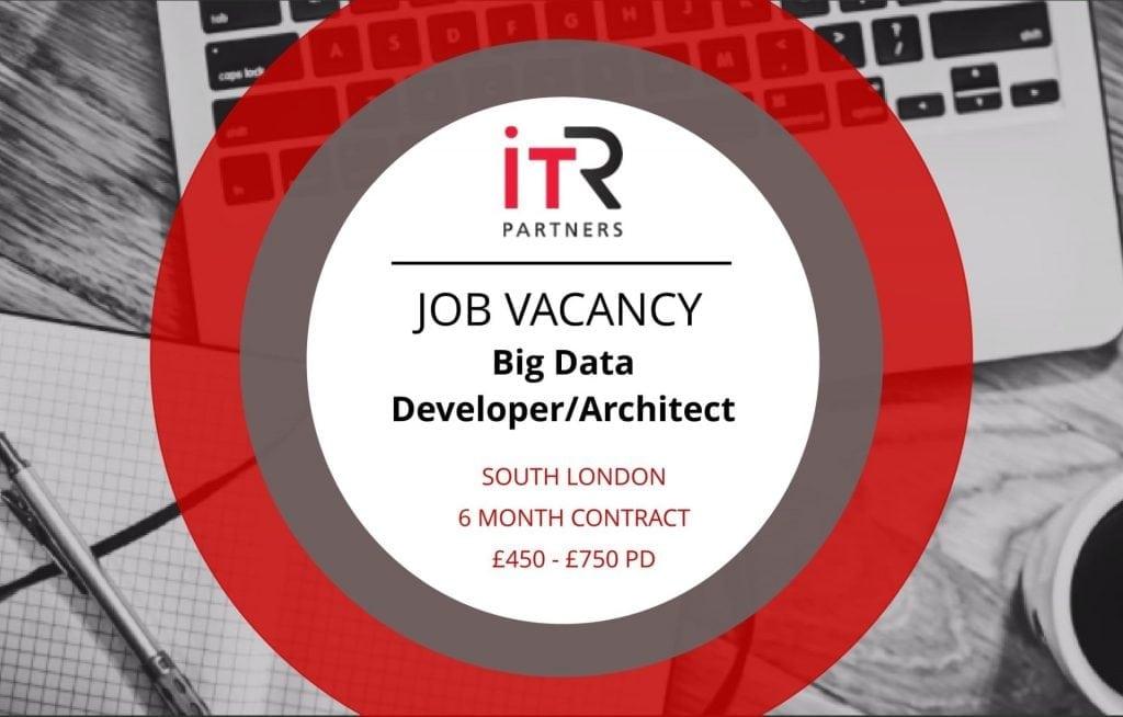 Big Data Developer/Architect