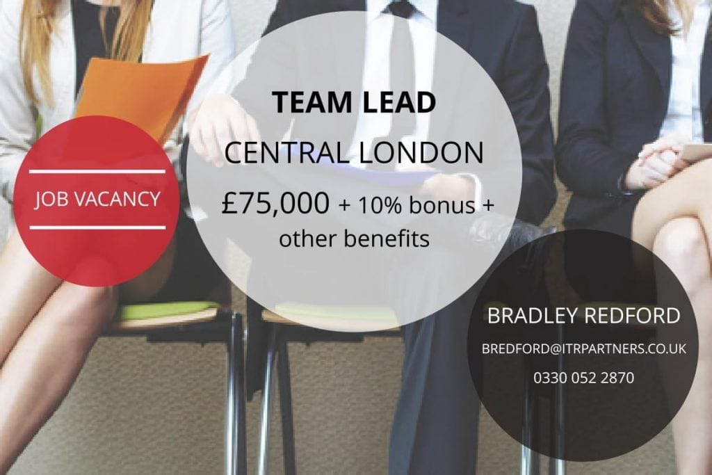 Team Lead, London