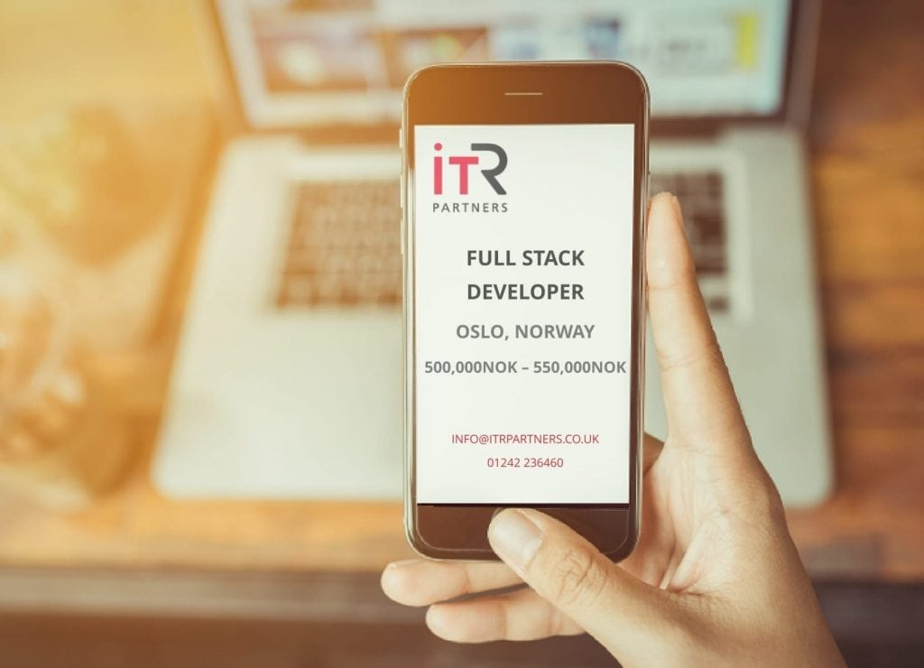 Full Stack Developer, Oslo Norway