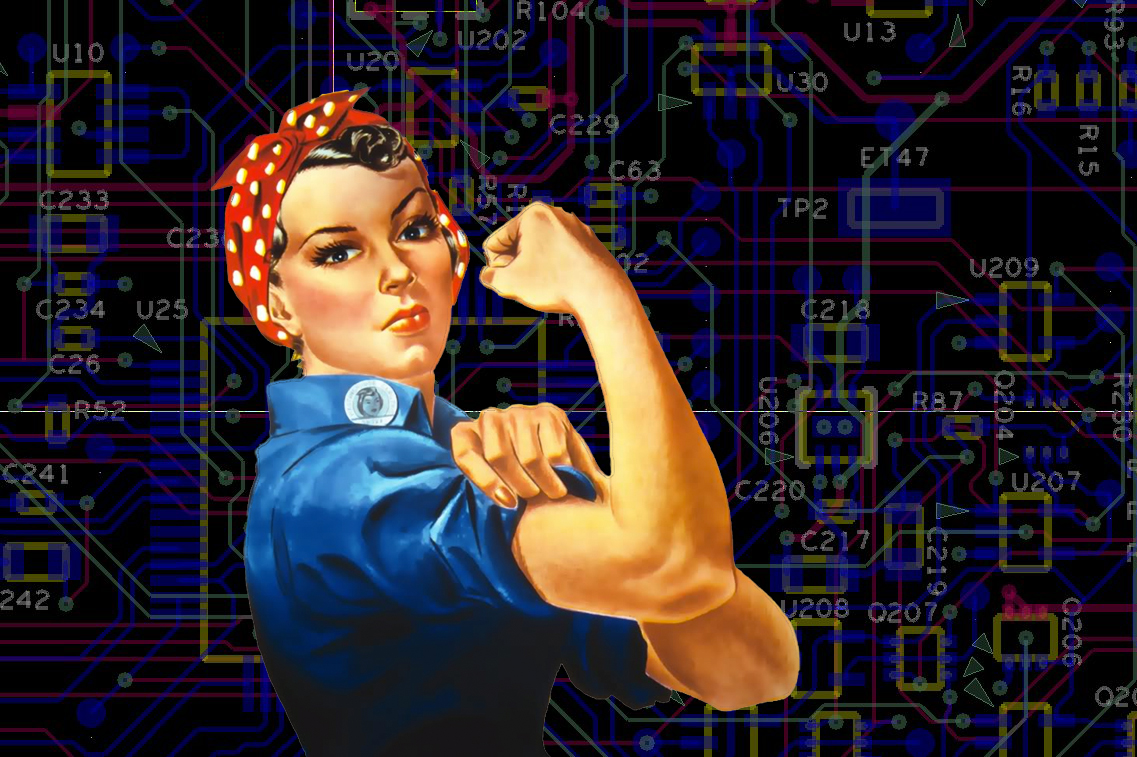 Women lacking confidence in technology
