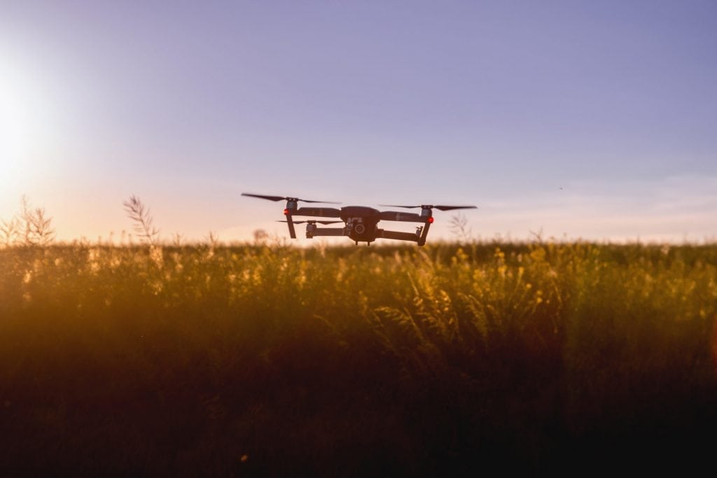 Drones within environmental research