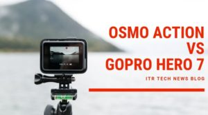 GoPro taking picture of landscape