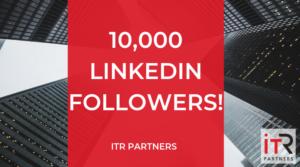 10,000 LinkedIn Followers ITR