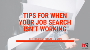 Tips for when your job search isn't working