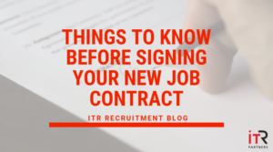 Things to know before signing your new job contract