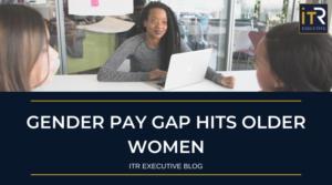 Gender pay gap hits older women